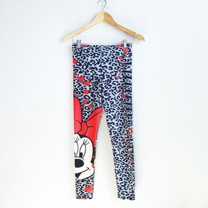 Disney : Minnie Mouse Leggings Size Small